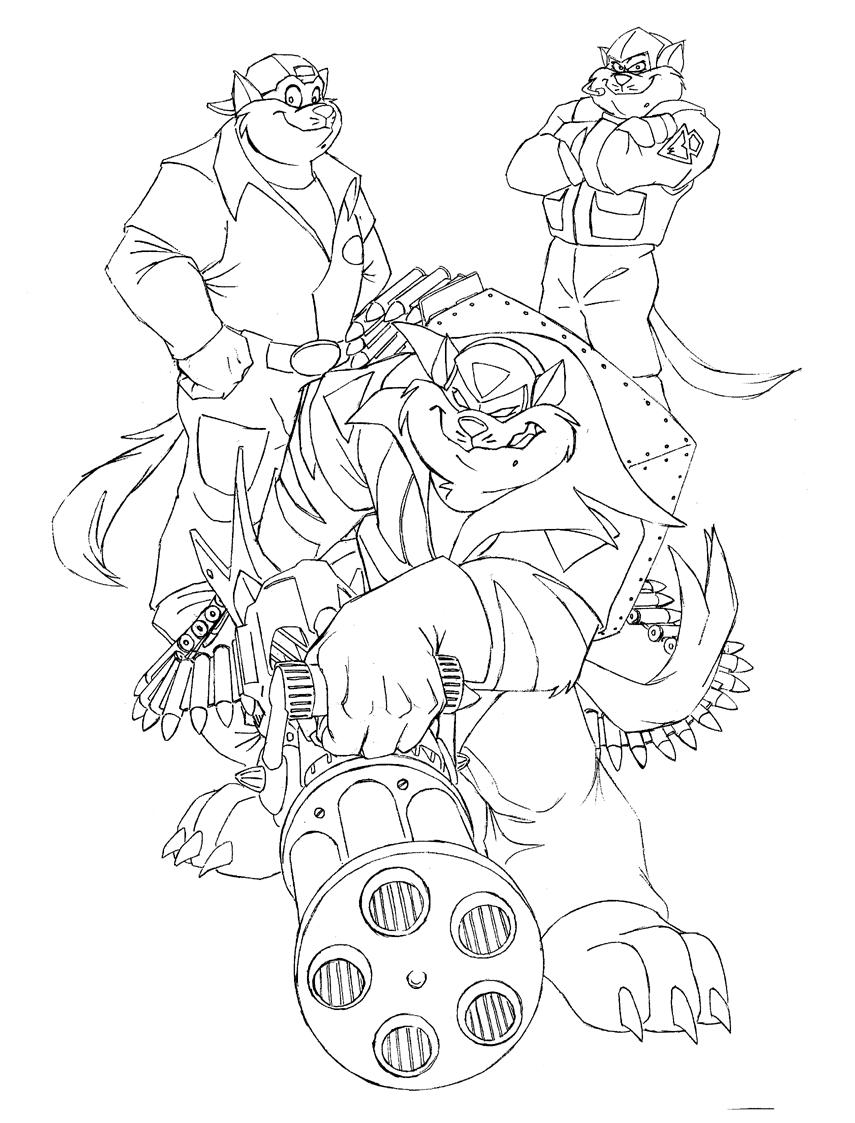 hanna barbera coloring pages - photo#32